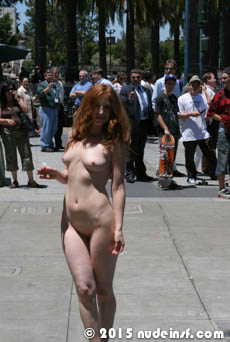 Amber full public nudity San Francisco Ferry Building beautiful young girl nudeinsf spread pussy ass tits