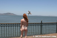 Amber full public nudity San Francisco Embarcadero beautiful young girl nudeinsf spread pussy ass tits