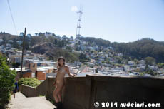 Celia full public nudity San Francisco Ashbury Heights beautiful young girl nudeinsf spread pussy ass tits