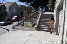 Celia full public nudity San Francisco Corona Heights beautiful young girl nudeinsf spread pussy ass tits