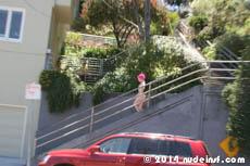 Fushia full public nudity San Francisco Ashbury Heights beautiful young girl nudeinsf spread pussy ass tits