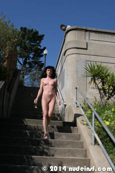 Gina full public nudity San Francisco Noe Valley beautiful young girl nudeinsf spread pussy ass tits