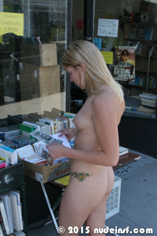 Janis full public nudity San Francisco Clement Street beautiful young girl nudeinsf spread pussy ass tits