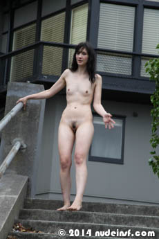 Juliette full public nudity San Francisco Russian Hill beautiful young girl nudeinsf spread pussy ass tits