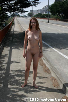 Katie full public nudity San Francisco Noe Valley beautiful young girl nudeinsf spread pussy ass tits