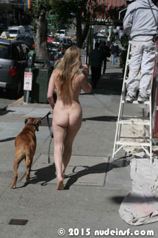 Leila full public nudity San Francisco Castro beautiful young girl nudeinsf spread pussy ass tits