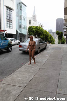 Leslie full public nudity San Francisco North Beach beautiful young girl nudeinsf spread pussy ass tits