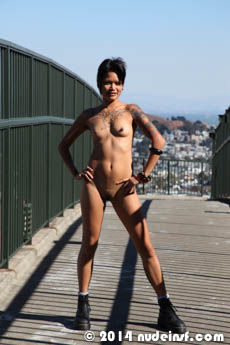 Mali full public nudity San Francisco Eureka Valley beautiful young girl nudeinsf spread pussy ass tits