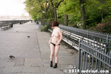 Vivian full public nudity San Francisco Brooklyn Promenade beautiful young girl nudeinsf spread pussy ass tits