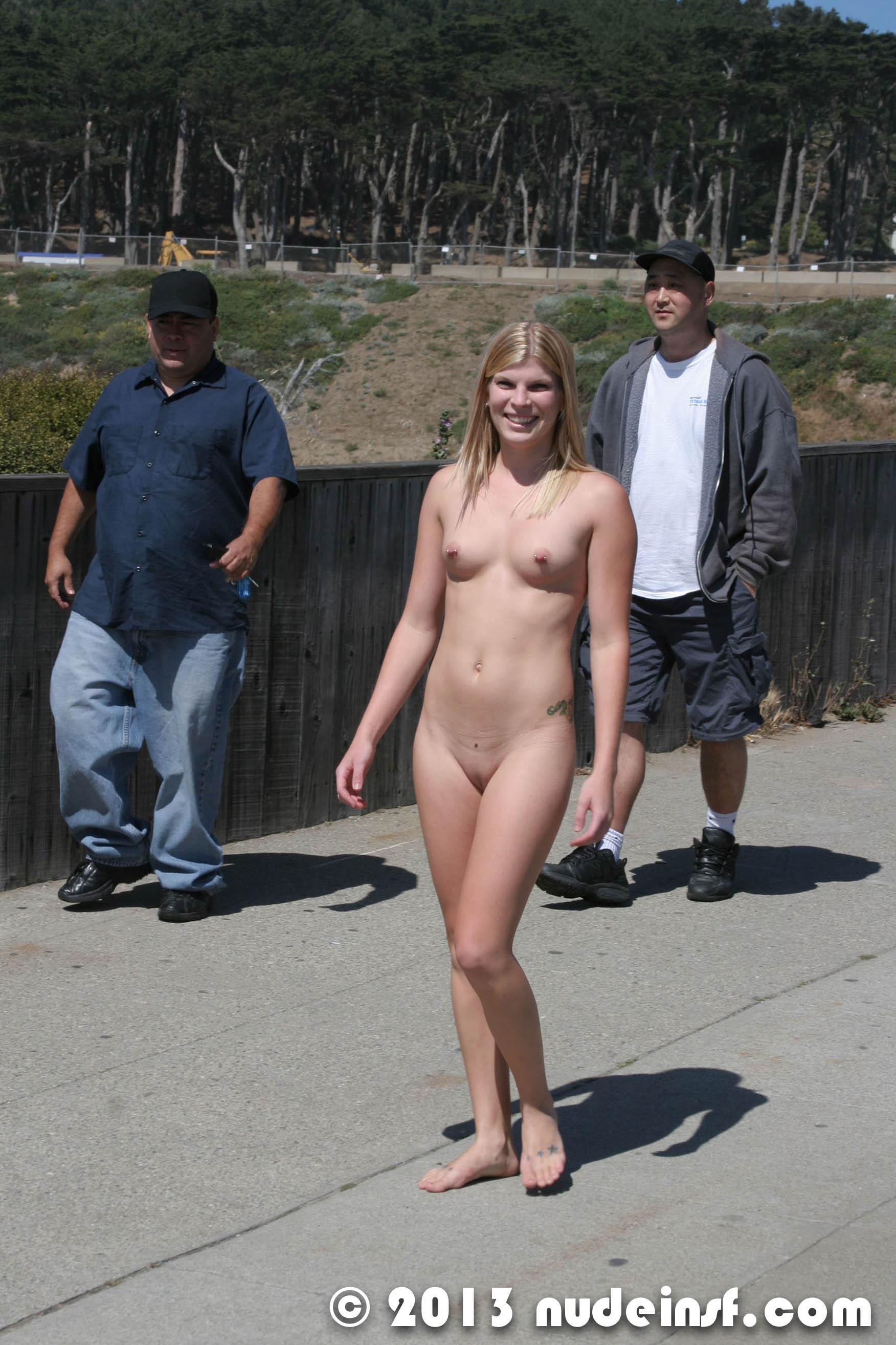 nude woman san francisco february 19