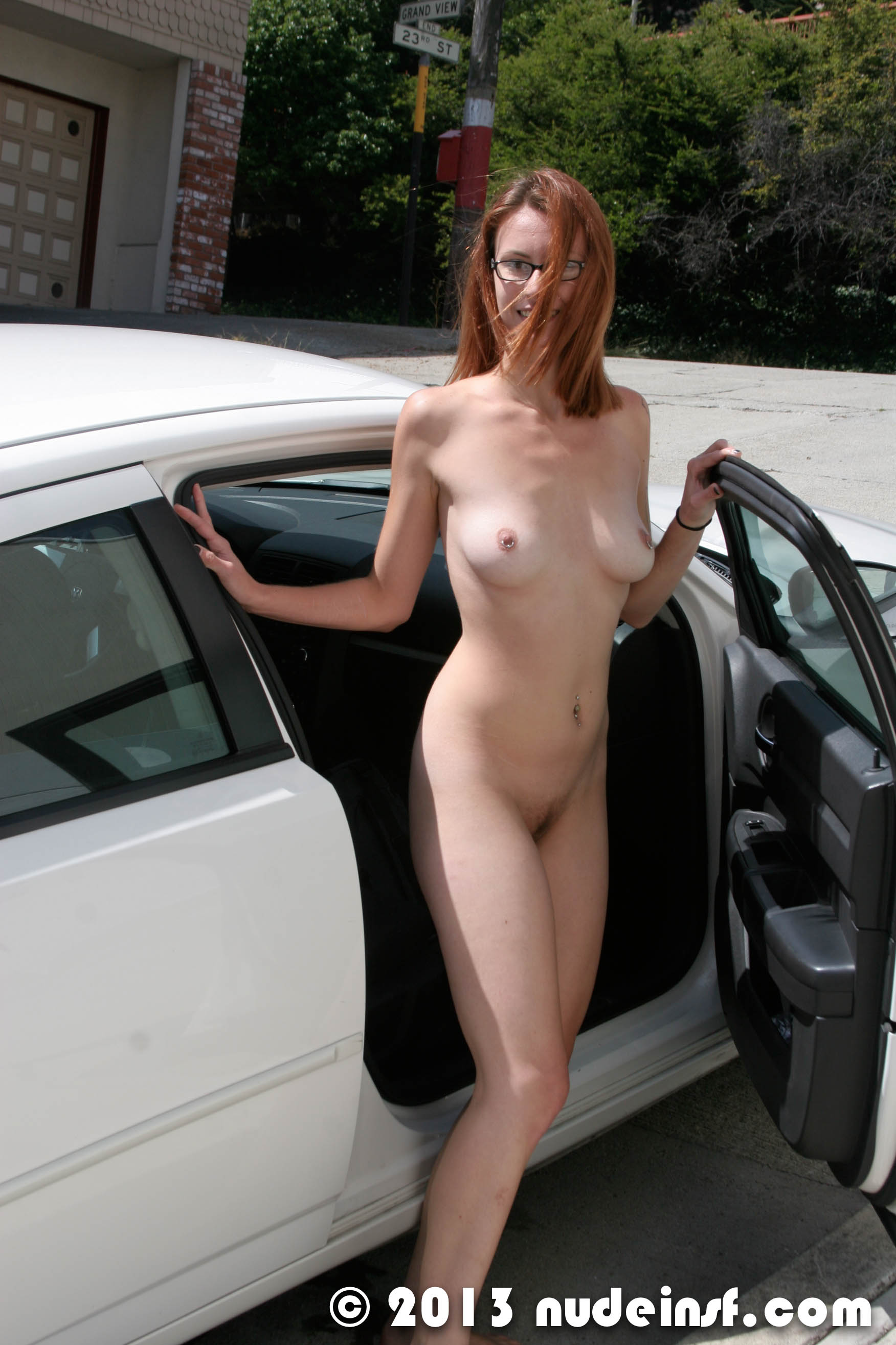 Sexy redhead gets her asshole blown out by guy she met onlin - 2 part 9