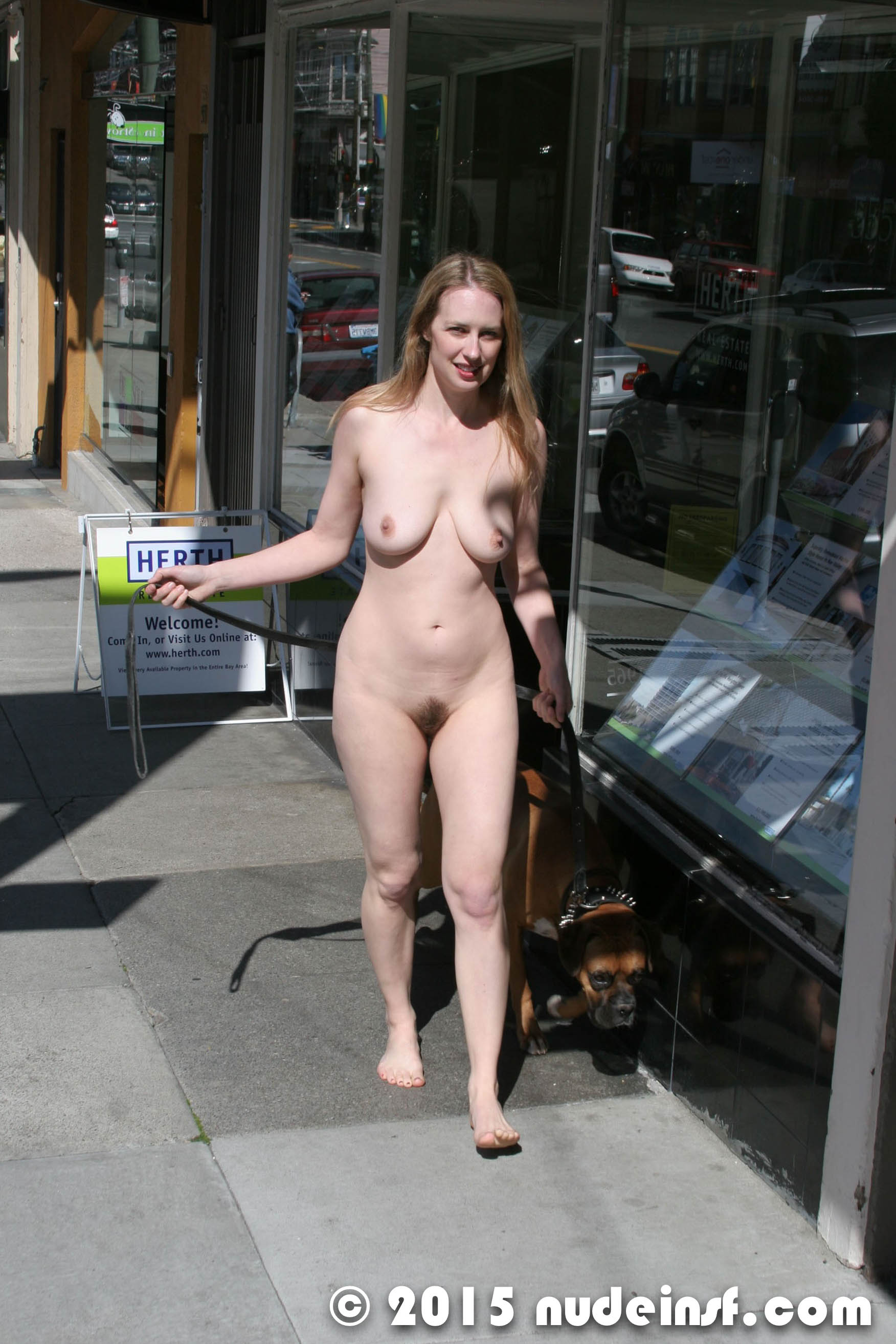 Leila - Public nudity in San Francisco California