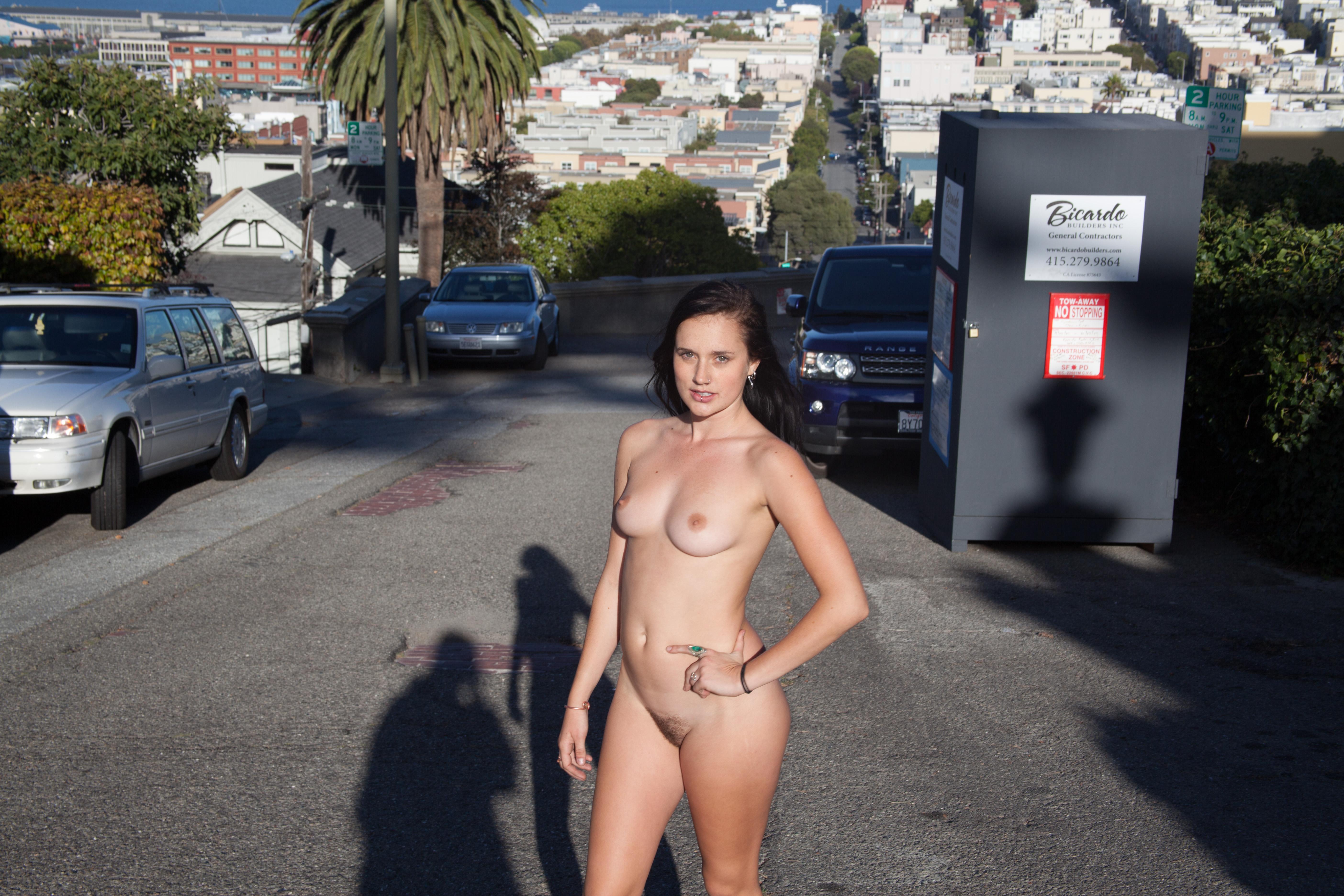 Naked california coed